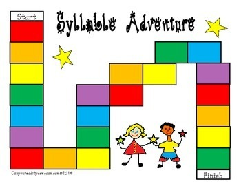 Syllable Adventure Game