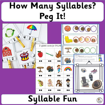 Syllable BUNDLE complements programs like Jolly Phonics. (SASSOON)