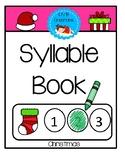 Syllable Book - Christmas