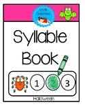 Syllable Book - Halloween
