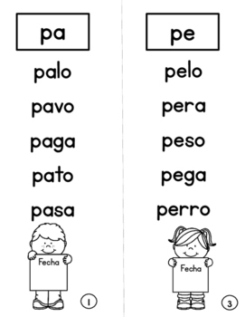 Syllable Books for Beginning Readers