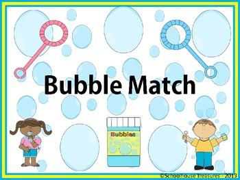 Syllable Bubble Match!
