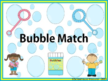 Syllable Bubble Match!