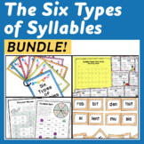 Syllable Bundle - Activities for the Six Different Syllable Types