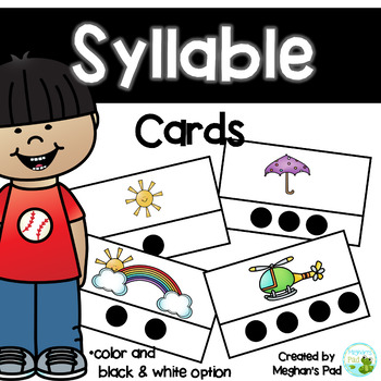 Syllable Cards