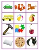 Syllable Cards Sorting & Memory Game