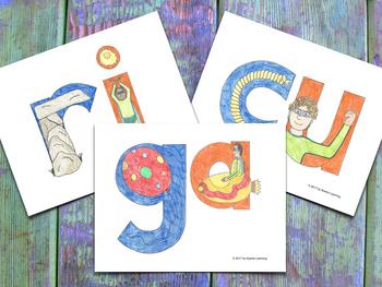 Syllable Cards - Tarjetones de las Sílabas CGR