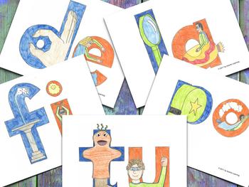 Syllable Cards - Tarjetones de las Sílabas DFLPT