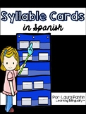 Syllable Cards in Spanish