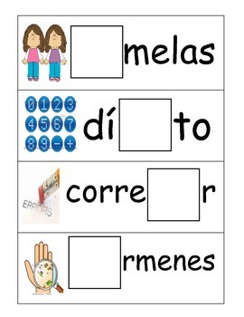 Syllable Center in Spanish (GeGi)