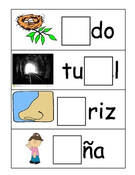 Syllable Center in Spanish (NaNeNiNoNu)