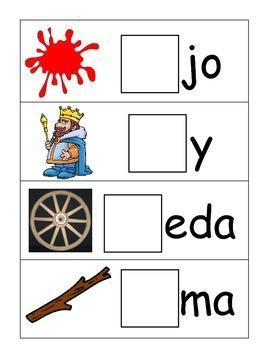 Syllable Center in Spanish (RaReRiRoRu)