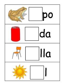 Syllable Center in Spanish (SaSeSiSoSu)