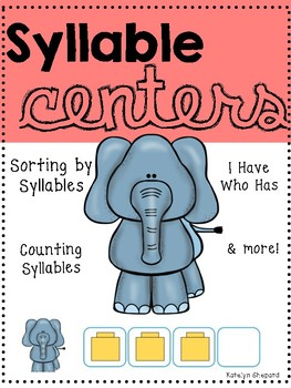 Syllable Centers