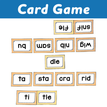 Syllable Centers: Consonant -le Sort, Game and Word Building Activity