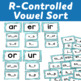 Syllable Centers: R-Controlled Vowels