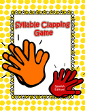 Syllable Clapping Game (Spanish Edition)