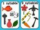 Syllable Clipart (Clip Art) Set