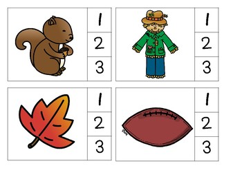 Syllable Clip Cards and Syllable Sort