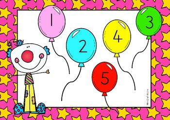 Syllable Clown - Counting Game