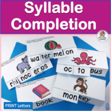 Syllable Counting and Syllable Completion
