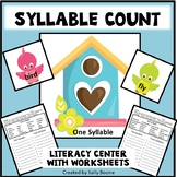 Syllables - Count the Syllables with Birds And Birdhouses