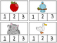 Syllable Count Clip Cards--Centers or Morning Tubs