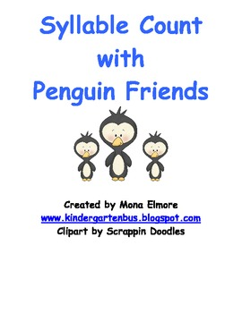 Syllable Count with Penguin Friends