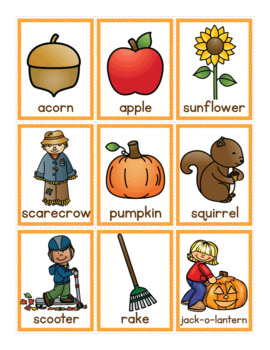 Syllable Counting Activities - Autumn: Syllable Action Spinner and Sorting Mats