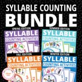 Teach Syllables Bundle | Syllable Activities for Preschool & Kindergarten