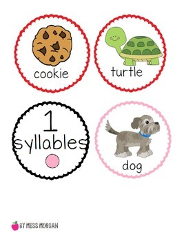 Syllable Counting Match and Sort