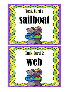 Syllable Counting Task Cards