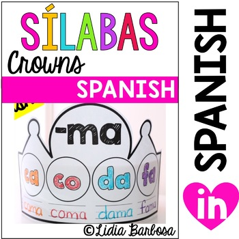 Syllable Crowns- Spanish