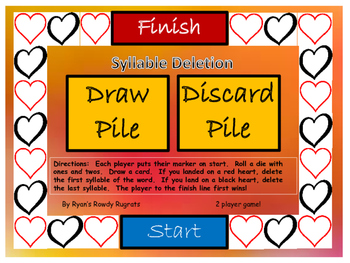 Syllable Deletion Game