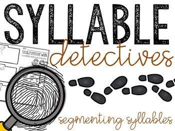Syllable Detectives