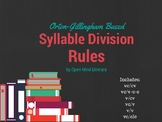 Syllabication:: Syllable Division Rules Made Easy!