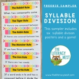 Orton-Gillingham Activities FREE Syllable Division Multisensory Practice