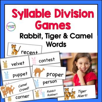 SYLLABLES | Syllable Games (VC/CV, V/CV and VC/V Division)