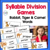 Syllable Types Games and Syllable Division (VC/CV, V/CV and VC/V Division Rules)