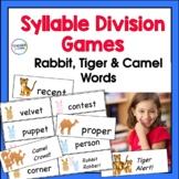 Syllable Types Games and Syllable Division (VC/CV, V/CV and VC/V Division Rules)