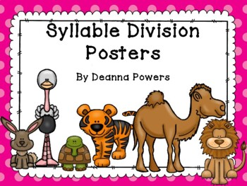 Syllable Division Pattern Posters