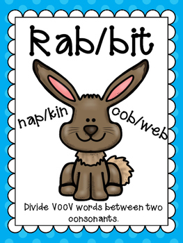 Syllable Division Patterns:  The BUNDLE!