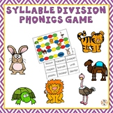 Syllable Division Phonics Game
