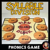 Syllable Division Review Game