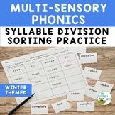 Phonics: Syllable Division | Syllable Types Sorting Practi