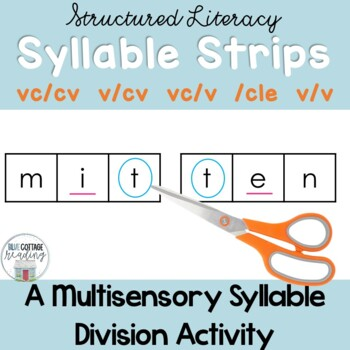 Syllable Division Strips