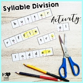 Syllable Division Syllable Patterns Activity