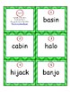 Syllable Division Task Cards Set 3: V/CV & VC/V Closed & Open Syllables