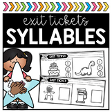 Syllable Exit Tickets