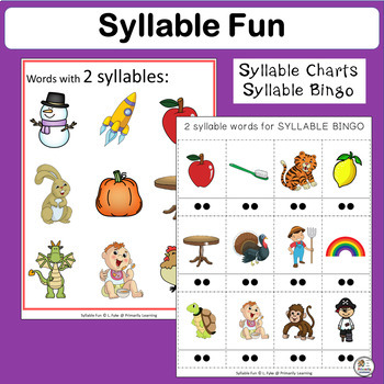 Syllable Fun complements programs like Jolly Phonics.